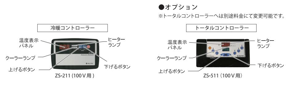 CLシリーズ付属コントローラー
